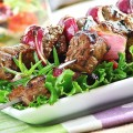 Diskebobulated Beef Skewers